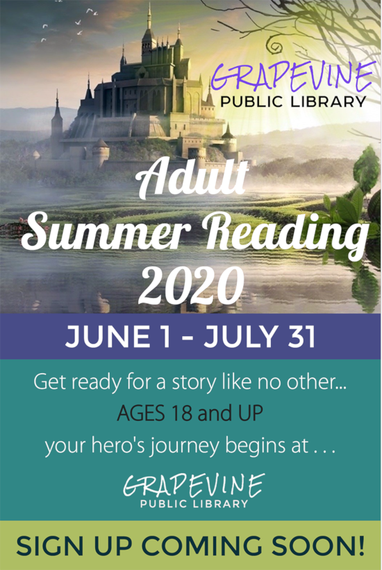 Adult Summer Reading Opens in new window