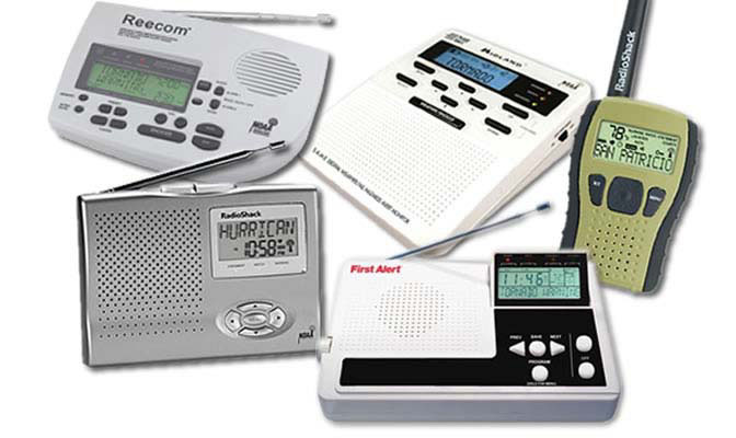 Picture of Weather Radios